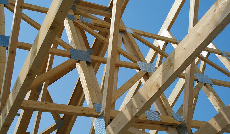 Nagelplattenbinder von Holzprofi Holzbau Janssen