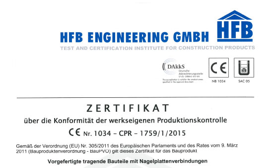 CE - Zertifikat