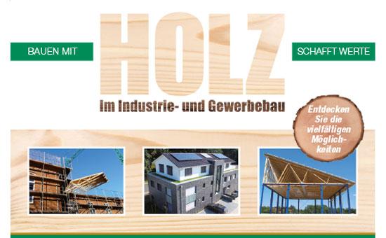 Holz im Gewerbebau