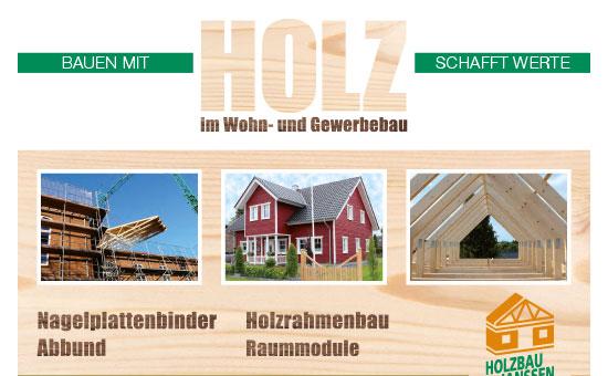Broschüre Holzbau Janssen